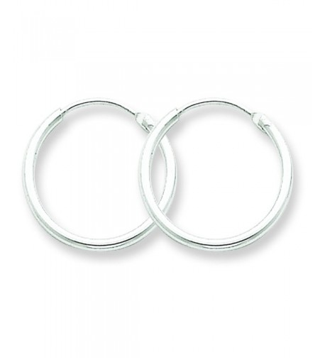 Sterling Silver Classic Endless Earrings