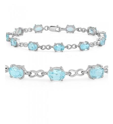 Infinty Tennis Bracelet Sterling Silver