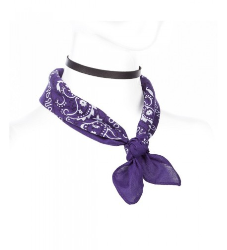 Necklace Classic Paisley Bandana Assorted