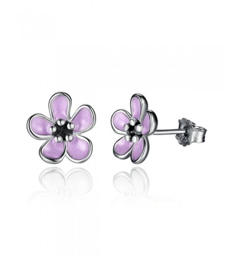 Kiss Cherry Blossom Sterling Earrings