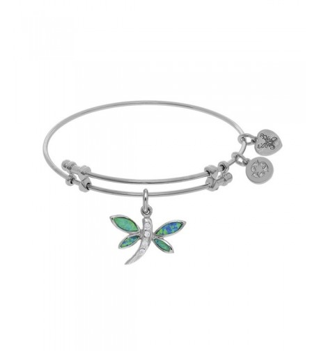 Angelica Collection Created Dragonfly Bangle