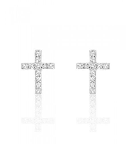 Zirconia Sterling Silver Beautiful Earrings