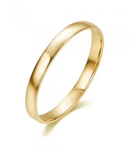 Solid Comfort Classic Wedding yellow gold