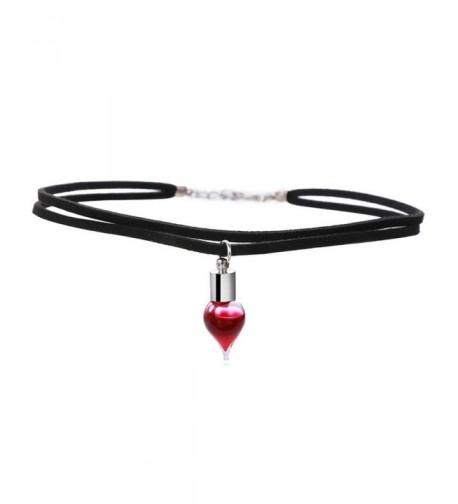 Halloweens Vampire Double Choker Necklaces