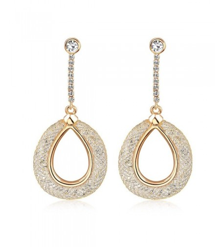 Mytys Fashion Jewelry Crystal Earrings
