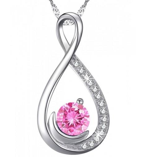 Infinity Necklace Girlfriend Anniversary Birthday