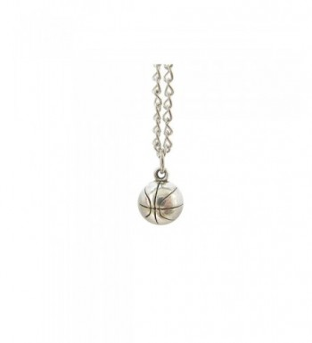 Basketball Necklace Pendant Jewelry Player