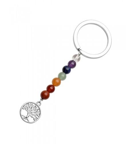 QGEM Keychain Natural Handmade Pendant 3 7