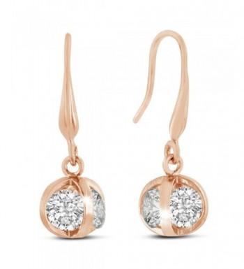 Sparkle Bargains Gold tone Swarovski Elements