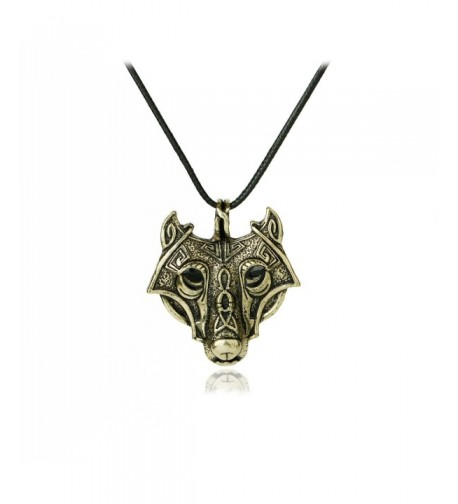 Meiligo Vikings Necklace Valknut Jewelry