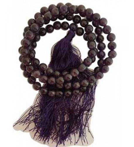 Amethyst Japmala Purple Tassel Prayer
