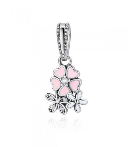 WOSTU Sterling Bracelets Pendant Necklace
