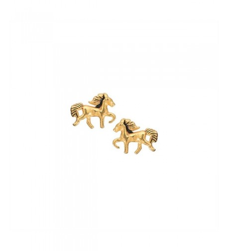 Earrings Plated Sterling Children 6632