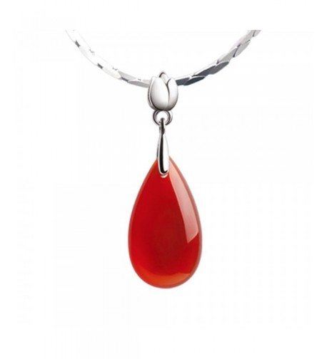 iSTONE Natural Gemstone Sterling Necklace