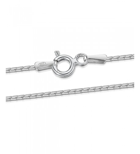 Amberta Sterling Silver Cardano Necklace