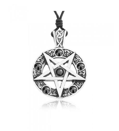 Dans Jewelers Inverted Pentagram Necklace