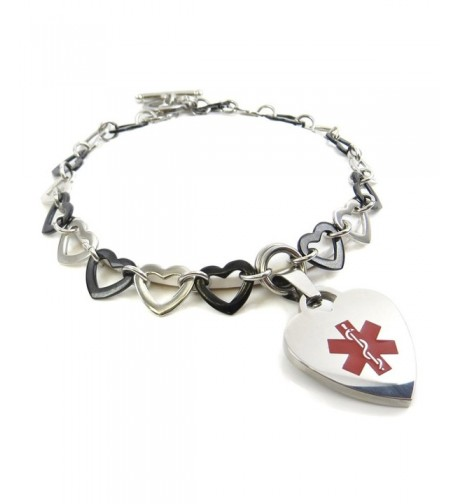 MyIDDr Pre Engraved Customized Medical Bracelet