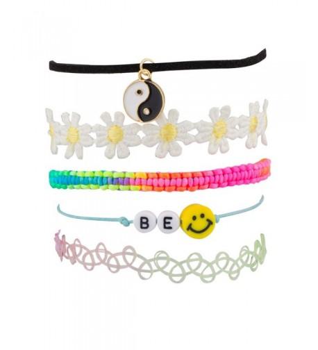 Lux Accessories Rainbow Sunflower Bracelet