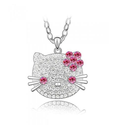 Crystal Diamond Pendant Necklace SWAROVSKI