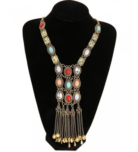 Miraculous Garden Vintage Necklace Bohemia