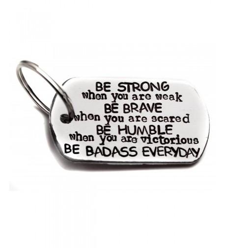 Be Badass Everyday Stamped Aluminum