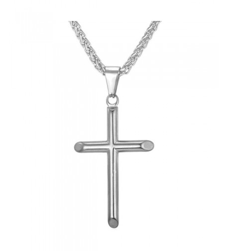 Simple Classic Pendant Necklace Stainless