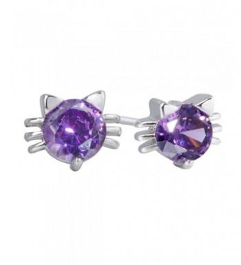 Zirconia Earrings Diamond Sterling Everydays