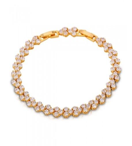 Plated Bracelet Zircon Tennis Bracelets