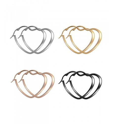 Paxuan Surgical Stainless Hypoallergenic Earrings