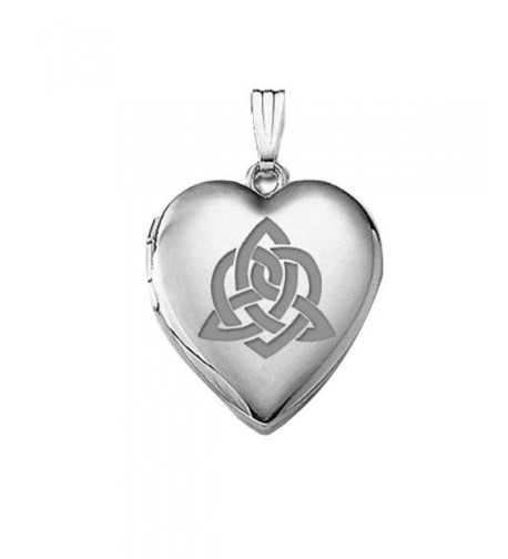 Sterling Silver Sisters Celtic Locket