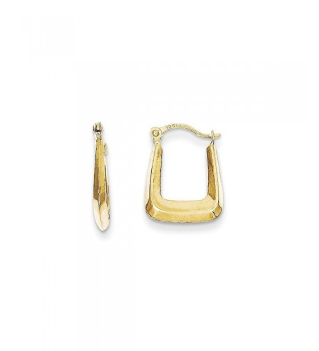 Jewelry Gift Hollow Squared Earrings