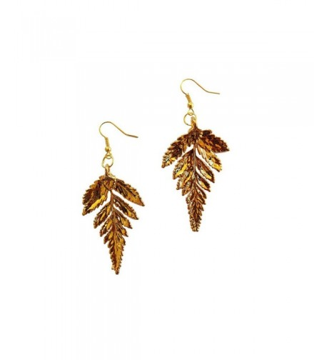 Dipped Plated French Dangle Earrings