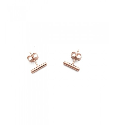 Midi Plated Rounded Earrings HONEYCAT