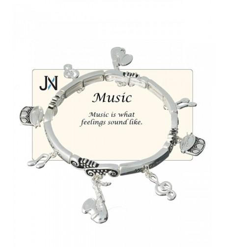 Music Theme Charm Bracelet feelings