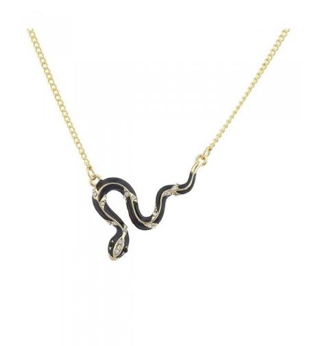 Lux Accessories Goldtone Rhinestone Necklace