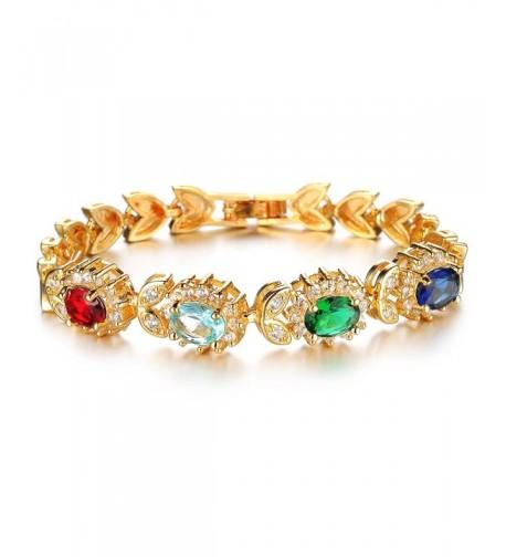 OPK Colorful Crystal Bracelet Gorgeous
