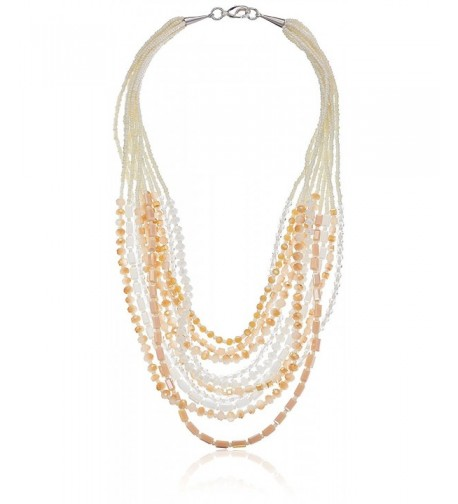 Panacea Crystal Statement Strand Necklace