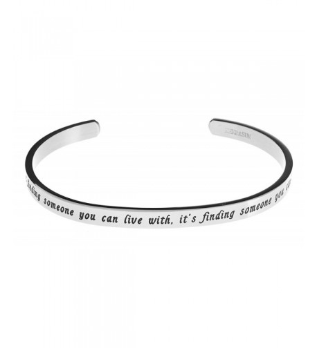finding someone Inspirational Bracelet Bangle