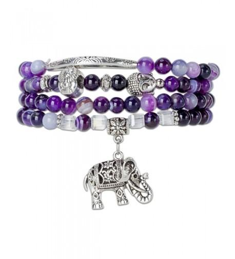 Silver Elephant Bracelet SPUNKYsoul Collection
