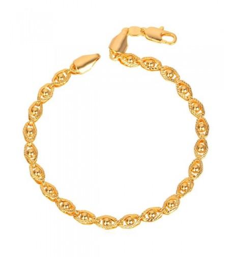 Stamp Bracelet Bead set Chain Women
