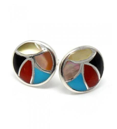 Multi Color Channel Earrings Leekya