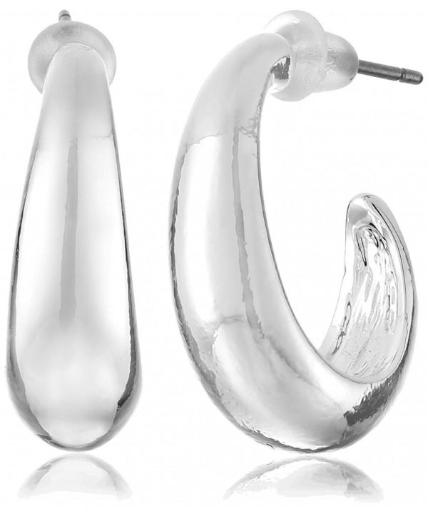 Napier Classics Silver Tone Earrings