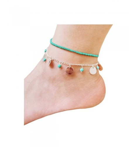 Shoopic Layered Anklet Charm Bohemia