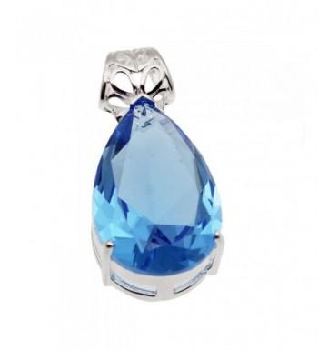 Sterling Silver Pendant Teardrop Jewelry