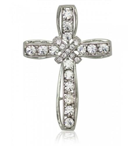 Akianna Silver tone Swarovski Element Crystals