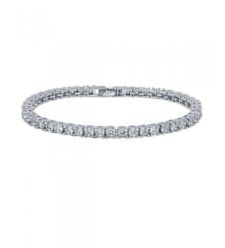VPKJewelry Diamonique Rhodium Plated Bracelet