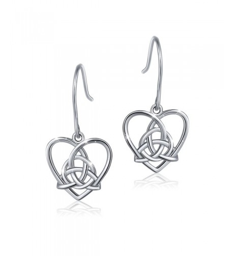 Sterling Silver Triangle Vintage Earring