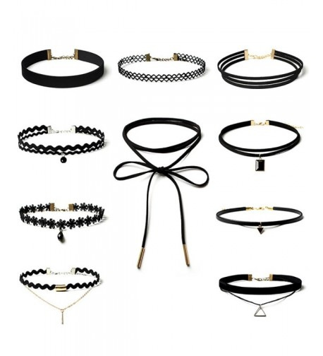 Choker Necklace Classic Stretch Chokers