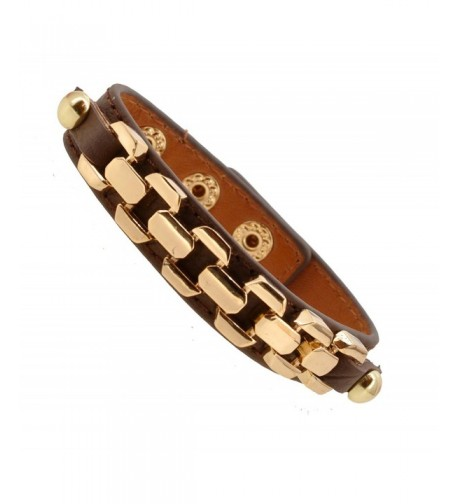 Womens Fashion Buckle Leather Bracelet