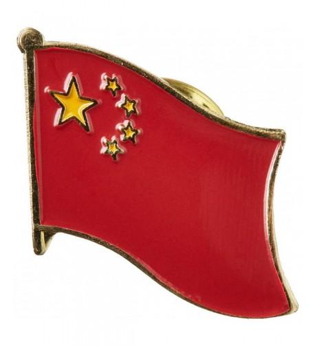 US Flag Store China Pin